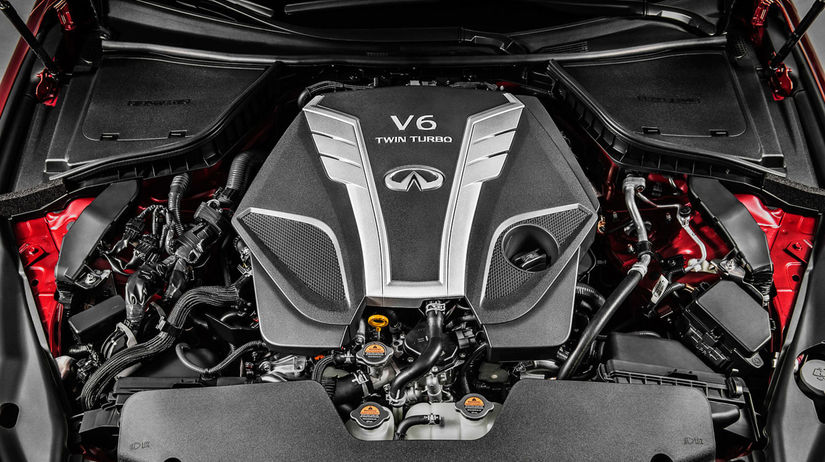 Infiniti - motor VR 3,0 V6