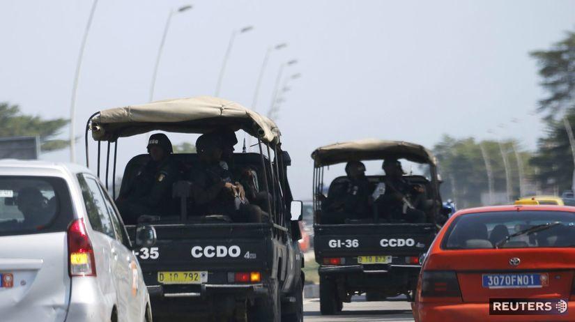 Pobrežie Slonoviny, streľba
