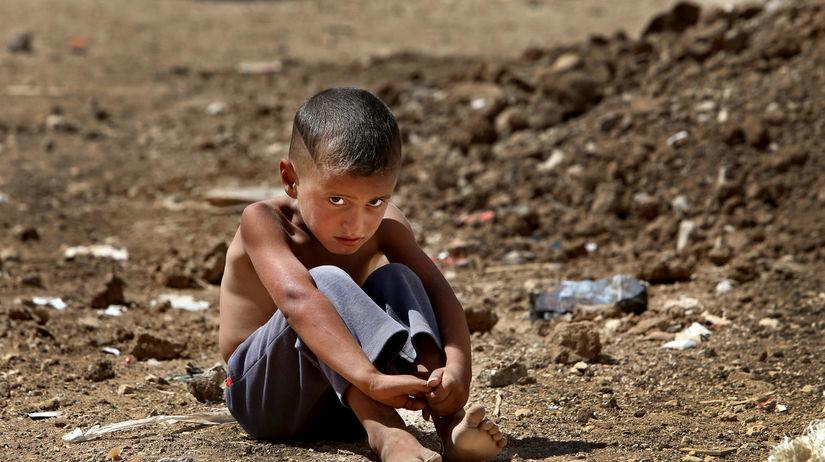 dieťa, utečenec, migrant, utrpenie, chlapček,...