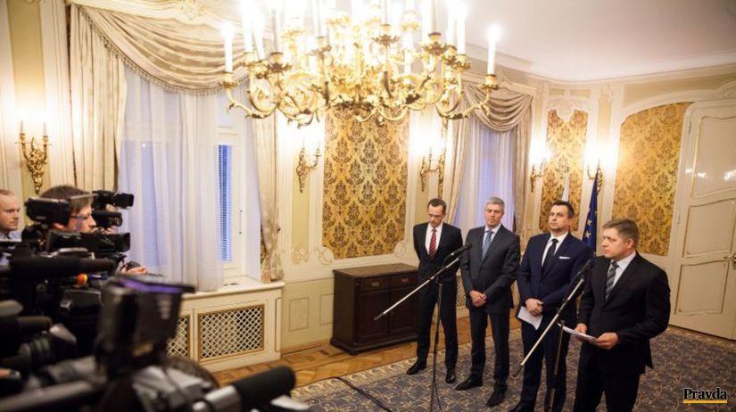 Fico, Bugár, Danko, Procházka