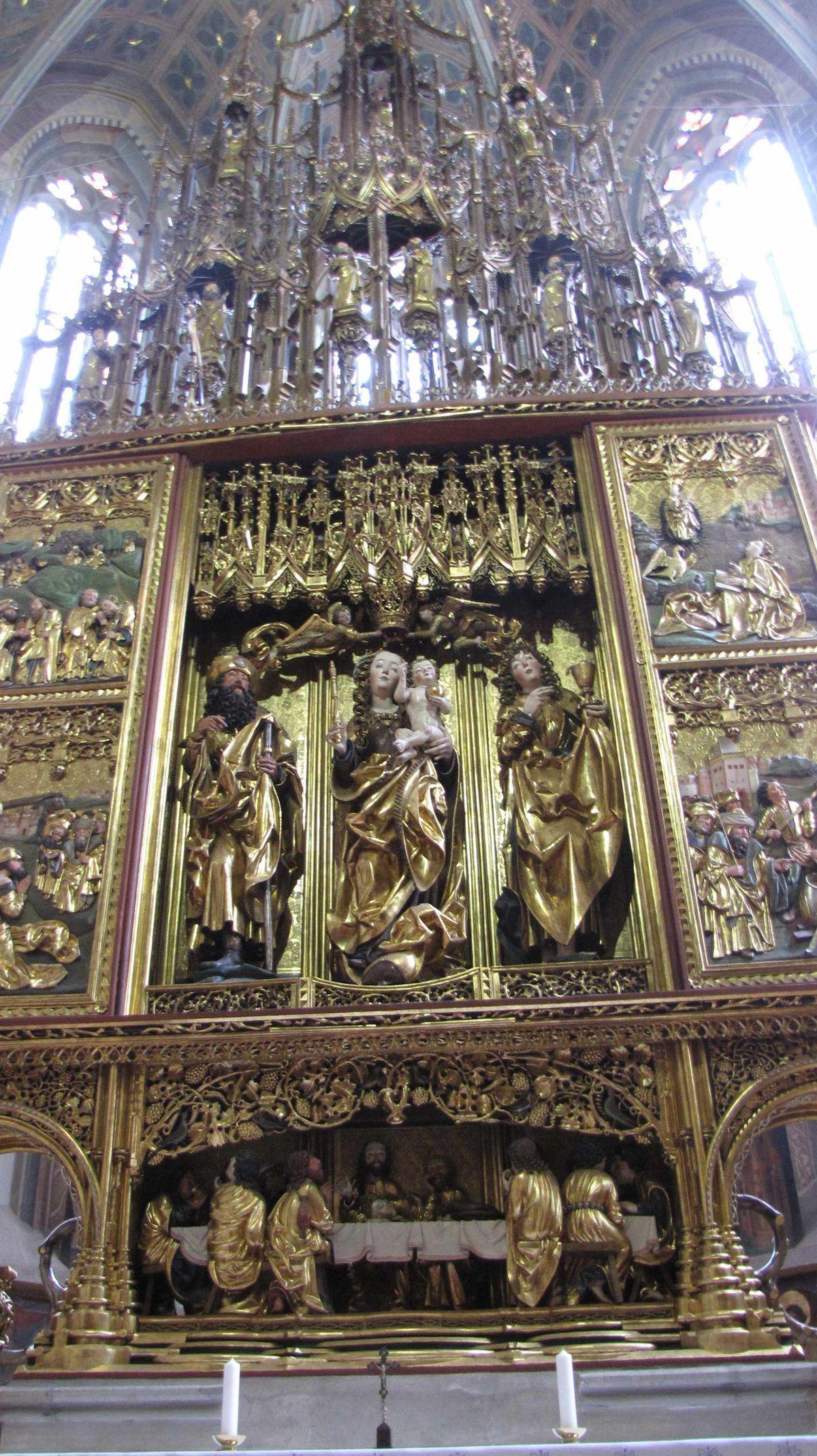 oltár, Levoča, Majster Pavol