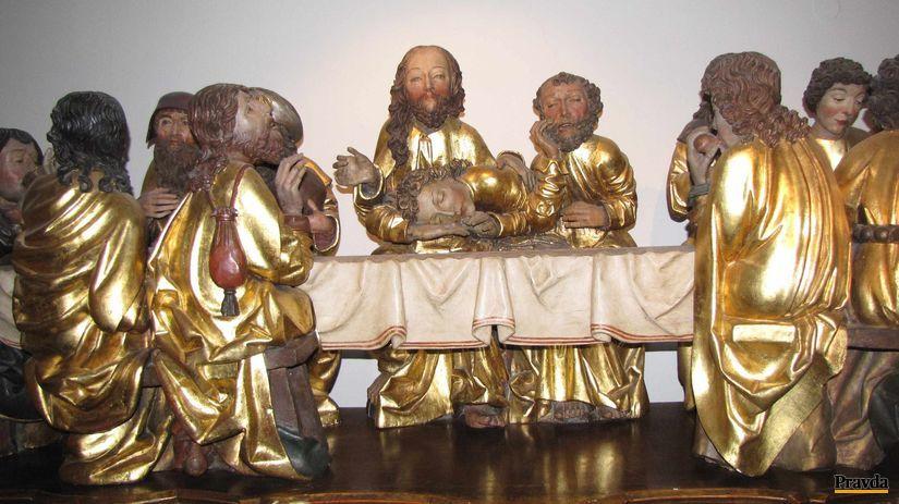 oltár, Majster Pavol, Levoča, sochy