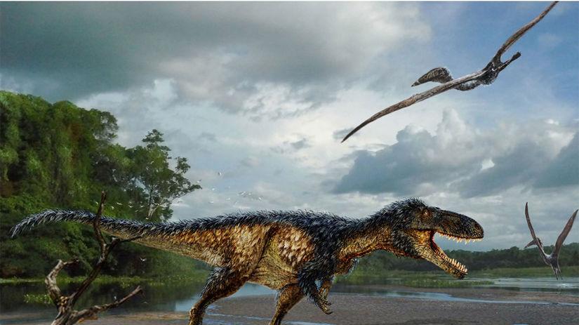 T-rex, tyrannosaurus rex, Timurlengia euotica,...