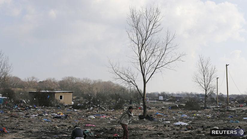 Calais, Francúzsko, Džungľa