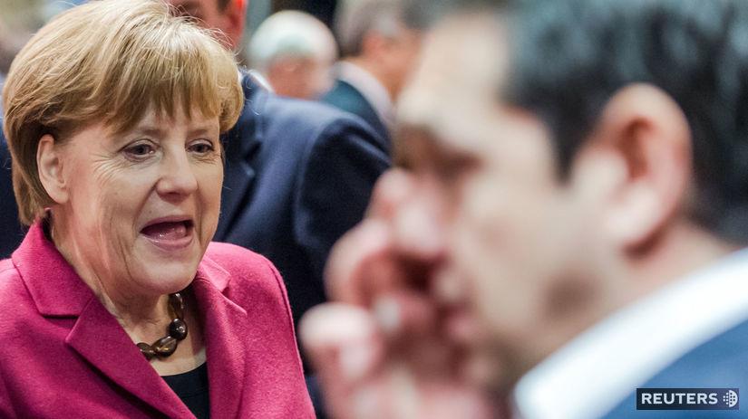 Alexis Tsipras, Angela Merkelová