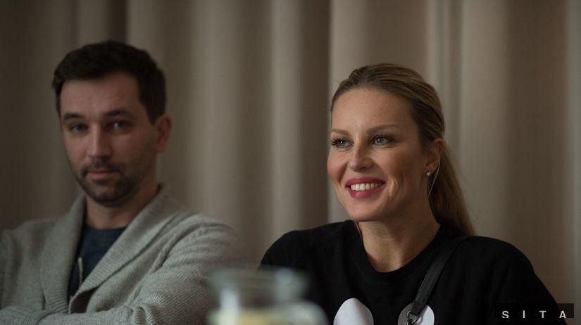 Simona Krainová a český herec Ondřej Sokol