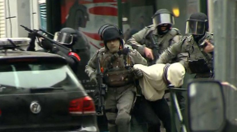 Belgicko, policajti, Molenbeek, Salah Abdeslam,...