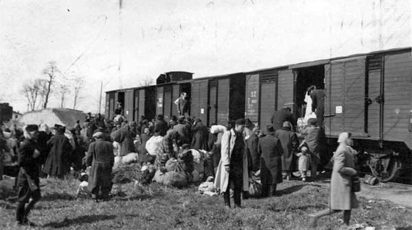 transport židov, druhá svetová vojna,