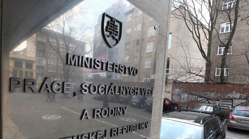 ministerstvo prace socialnych veci a rodiny