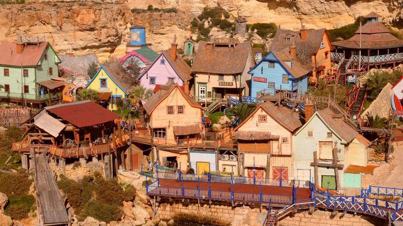 Popeye Village, Mala, Mestečko námorník Pepek,...