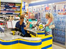 obchod, Lidl, predavačka, supermarket, hypermarket