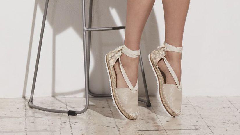 topánky - plochá podrážka