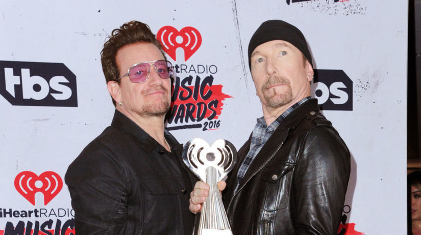 Bono a jeho kolega The Edge z U2
