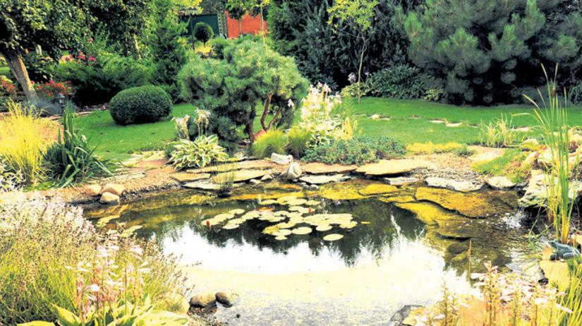 jazierko, záhrada