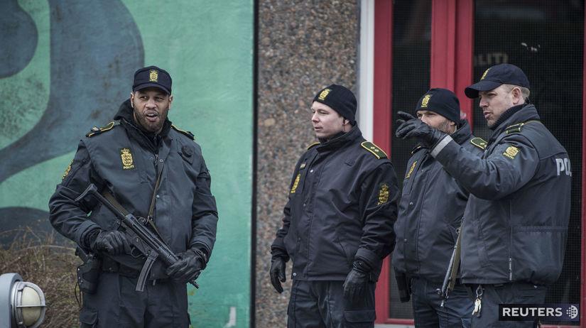 Dánsko, polícia,