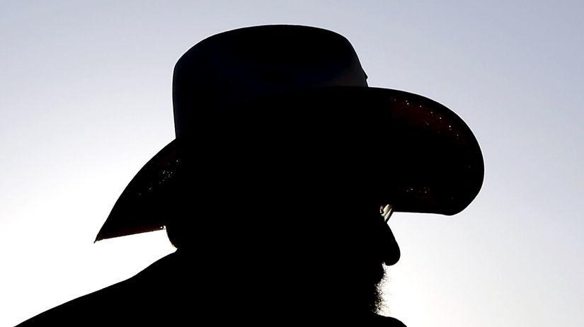cowboy, kovboj, klobúk, renčer