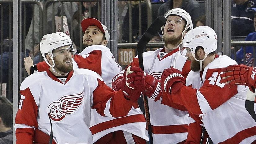 Detroit Red Wings, hokej, radosť