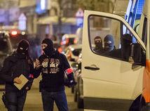 polícia, zásah, Belgicko