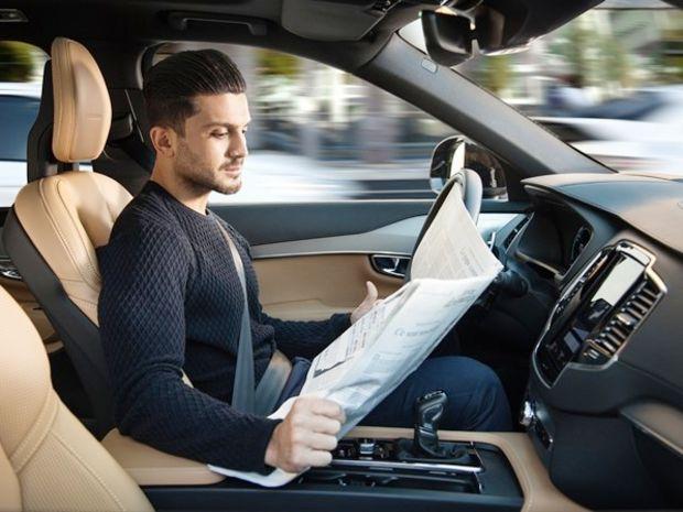 Volvo - autonómne riadenie