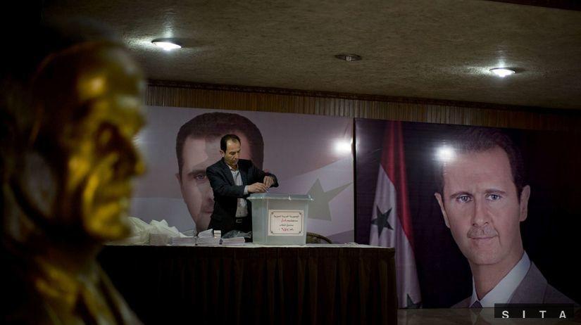 sýria, voľby, sýrske voľby, asad,