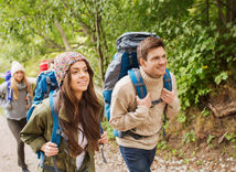 turizmus, turista, les, prechádzka, hory, výlet