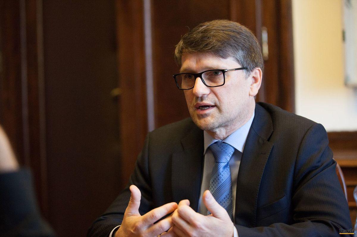 Minister kultúry Marek Maďarič (Smer).