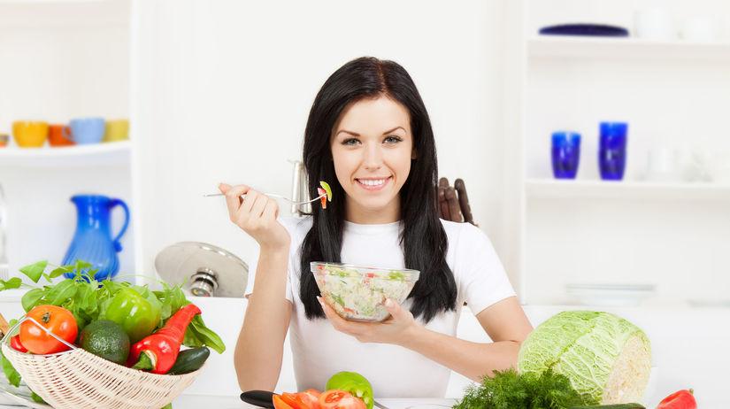 zlenina, šalát, zdravá stava, jedlo, obed,...