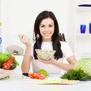 zlenina, šalát, zdravá stava, jedlo, obed, čerstvé potraviny