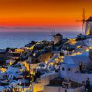 Grécko, Santoríni, Oia, more, dovolenka, mlyn, NEST1 NEPOUZ