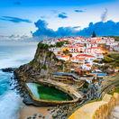 Portugalsko, Azenhas do Mar, more, leto, dovolenka, NEST1 NEPOUZI