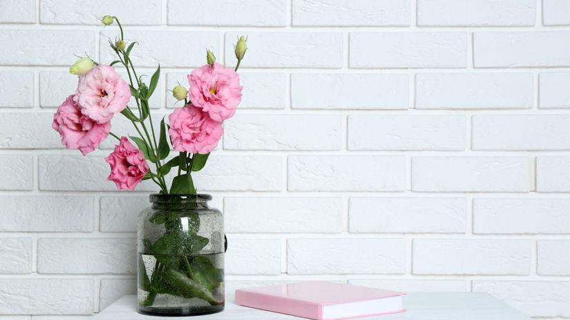 kvety, interiér