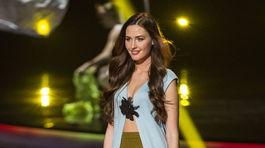 Finalistka súťaže krásy MISS Slovensko 2016 Viktória Erdélyiová z Košíc
