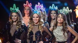 Finalistky súťaže krásy MISS Slovensko 2016 počas finálového večera.