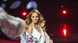 Víťazka súťaže krásy MISS Slovensko 2016 Kristína Činčurová z Lučenca.