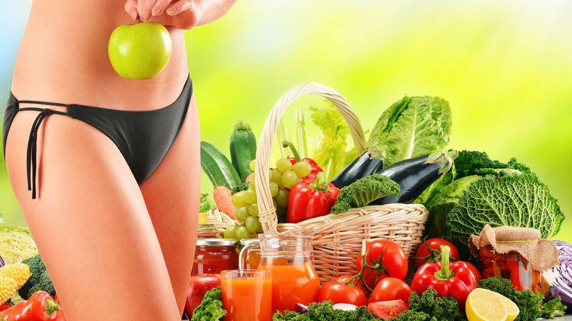 detox, ovocie, zelenina, štíhla línia