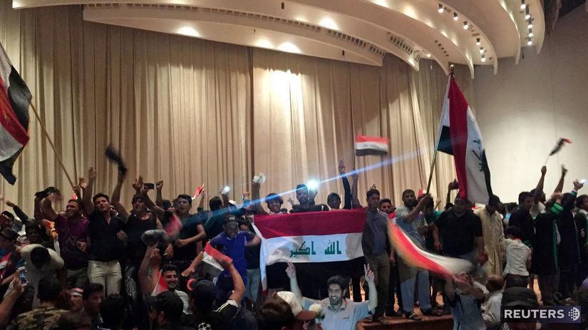 Irak, Bagdad, protest