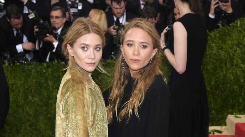 Sestry a dizajnérky značky The Row Ashley Olsen...