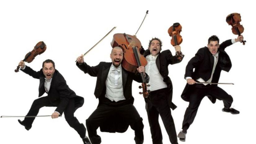PaGAGnini, to sú štyria Španieli, huslisti...