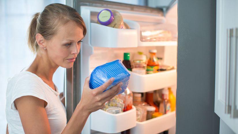 chladnička, skladovanie potravín