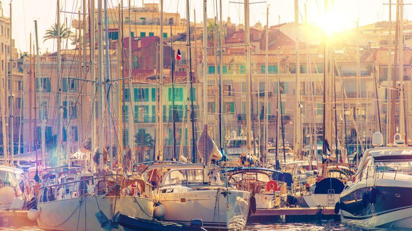 Cannes, Francúzsko, mesto, lode, člny, jachty,...
