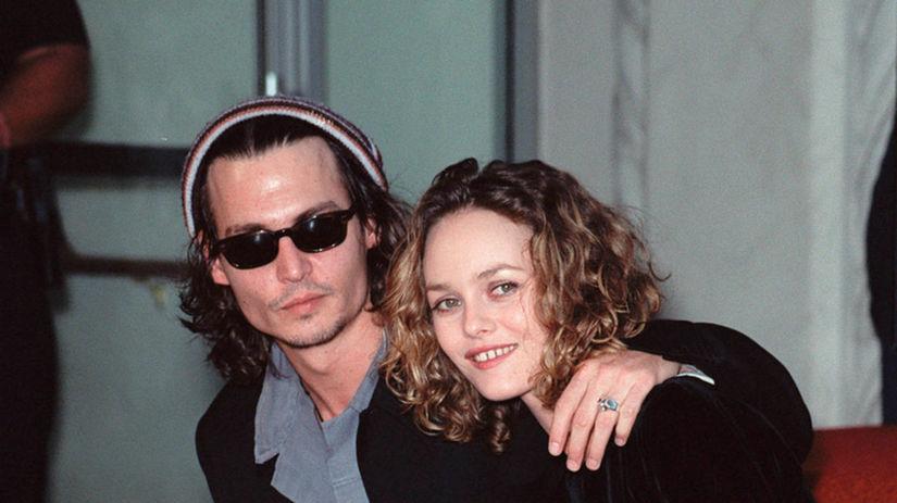 Vanessa Paradis a Johnny Depp