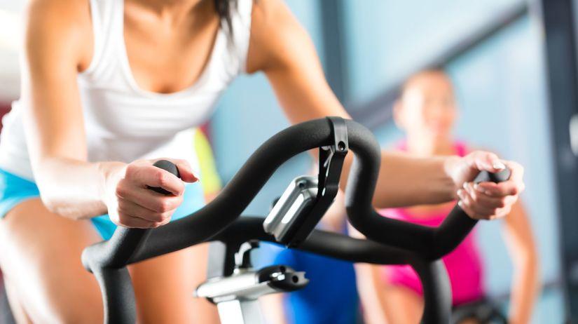 cvičenie, bicykel, fitness, stacionárny...