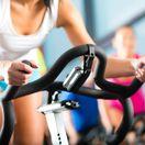 cvičenie, bicykel, fitness, stacionárny bicykel, svaly, posilovňa, fitnescentrum