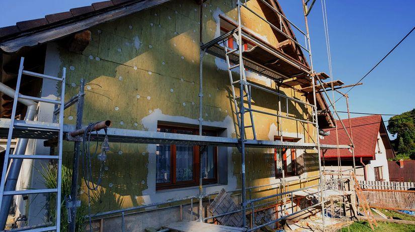 dom, stavba, novostavba, zatepľovanie, zelená...