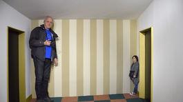 Tricklandia, optická ilúzia, 3D a 2D,