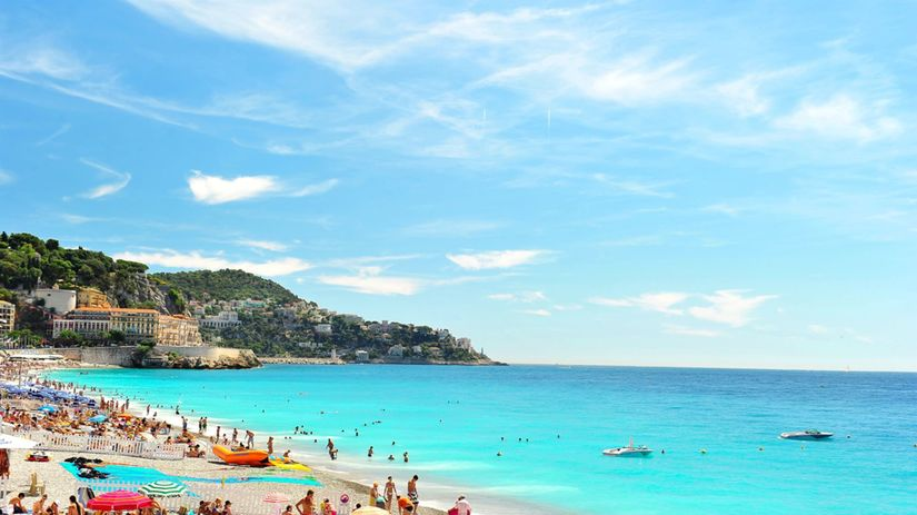 Turecko, leto, more, dovolenka, pláž