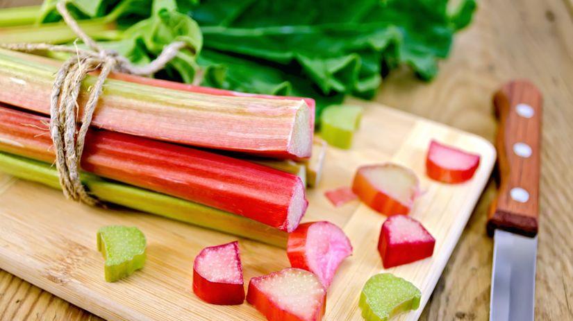 rebarbora, jarná zelenina