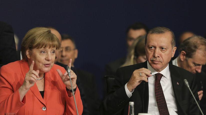 Merkelová, Erdogan