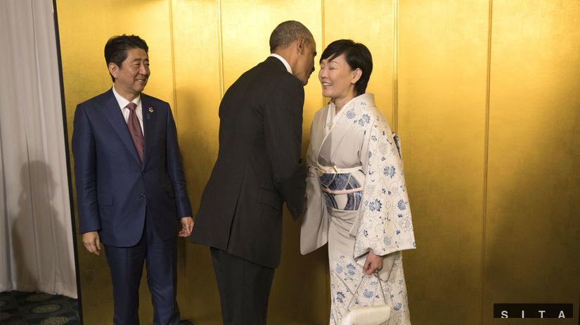 Obama, G7, Šinzó Abe