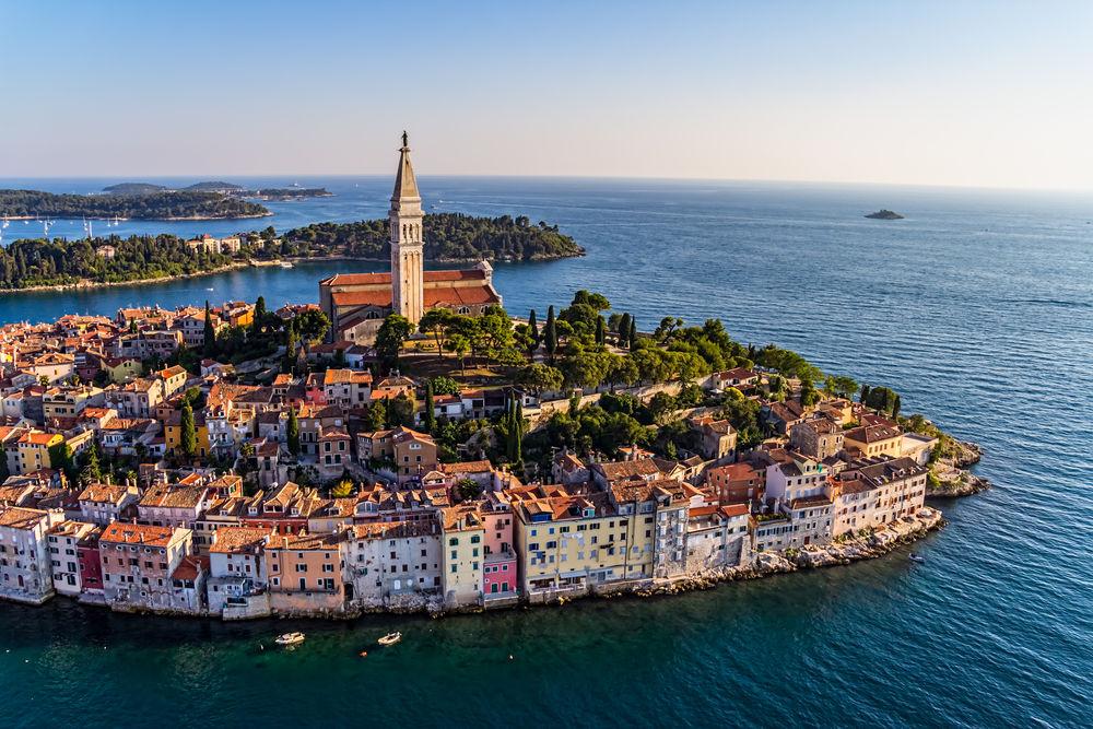 rovinj, chorvátsko, leto, dovolenka, Istria, more